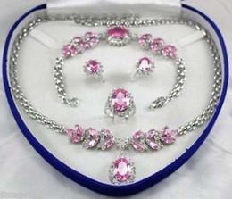 Wholesale Light Blue Jade Bracelet - women's jewelry amethyst yellow Necklace Bracelet Earring Ring sets