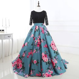 Wholesale Printed Satin Prom Dresses - Beautiful Newest Free Shipping Sweetheart Printed Prom Dresses 2017 Prom Gowns Formal Women Dresses Evening Dress Gowns