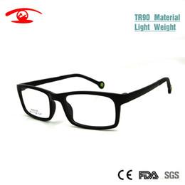 Wholesale memory boy - Wholesale- 2016 Fashion TR90 Memory Unisex Boy Girl Optical Frame Kids Prescription Glasses Children Eyeglasses Eyewear oculos de grau