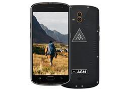 "Wholesale Rugged Dual Core - Original AGM X1 IP68 Waterproof Rugged Smartphone 5.5""FHD 4GB RAM 64GB ROM Snapdragon 617 Octa Core Fingerprint 5400mAh OTG NFC"