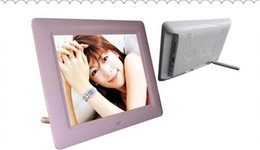 Wholesale DHL 7 inch LCD TFT Digital Photo Frame With MP3 MP4 Player High Resolution Displa brand New