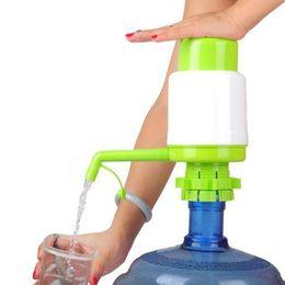 Wholesale New Drinking Hand Press Pumps - Wholesale- New 5 Gallon Bottled Drinking Water Hand Press Removable tube Innovative vacuum action Manual Pump Dispenser