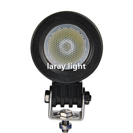 Wholesale Led Light Kits For Boats - 10W LED Round Car Driving Light Daytime Running Light DRL Fog Lamp LED Offroad Work Light For Motorcycle Tractor Boat SUV Flood