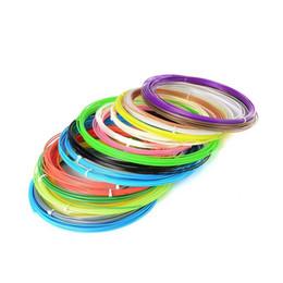 100 м смешанный цвет DIY 3D принтер поставляет накаливания ABS PLA 1.75 мм накаливания для 3D печати ручка накаливания 3D принтер от Поставщики пластиковые дверные тяги