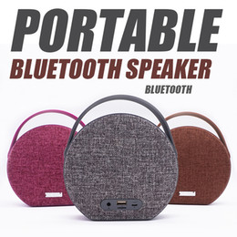 Wholesale Angels Sounds - Good quality MY551BT Fabric Bluetooth Speaker Support TF Card Music Angel USB Mini Speaker Indoor Outdoor Active Wireless Speakers