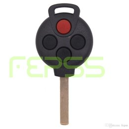 Wholesale Replacement Mercedes Keys - New Replacement Remote key Fob 315MHz 4 Button for Mercedes-Benz Smart Fortwo