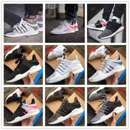 Wholesale 2017 Hot Sale EQT Support ADV Primeknit Zebra Boost Women Men Running Shoes Primeknit93 Fashion Casual Sports Sneakers Size