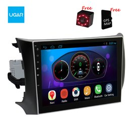Wholesale Gps Sylphy Inch - 10.2 inch Quad Core 1024*600 Android Car GPS Navigation for Nissan Sylphy Sentra Pulsar 2012-2016 Multimedia Player Radio Wifi