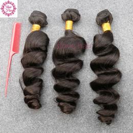 2019 reine amour vierge cheveux Non Transformés Brésiliens Vierge Cheveux Lâche Wave Slove Rosa Produits 3 Bundles Grade 6A 100% Humain Weave Bundle Cheveux Livraison Freel