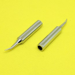 Wholesale Soldering Station Solder Iron - Wholesale- TL-143 Lead-free Replaceable 900M-T-I Soldering Iron Bent needle Tips For Soldering Station