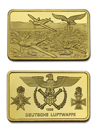 Wholesale Coin Inlay - Germany World War II Cross Eagle Fighter Military Commemorative Coin Bar
