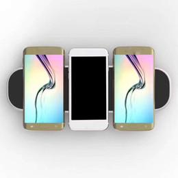 2019 беспроводное зарядное устройство для мобильного телефона Беспроводное зарядное устройство 3 в 1 Беспроводное зарядное устройство для 3 мобильных телефонов + 2 usb Зарядка одновременно для iphone x samsung s8 с розничной упаковкой дешево беспроводное зарядное устройство для мобильного телефона