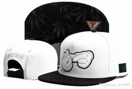 Wholesale Kush Hats - Cayler & Sons KUSH smoke leaf Baseball Caps Chapeu Outdoor golf strapback gorras planas Casquette Hip Hop Casual hats