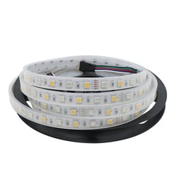 Wholesale Christmas Lights For Outdoors - RGBW RGBWW 5050 SMD 300 LED Tube-Waterproof IP67 DC12V LED Strip Light Multi olor Outdoor Light for Christmas Party