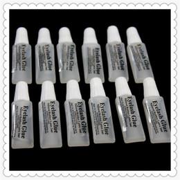 H-Beauty Falsche Wimpern Kleber 2ml Kunststoff Flachrohr Reise tragbar keine Stimulation der kleinen Kleber Lady Makeup Tool Großhandel von Fabrikanten