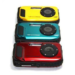 "Wholesale Digital Camera Dc - Free shipping DC-188 2.7"" LCD 16Mega Pixel 8x Zoom Digital Camcorder 10M Waterproof HD Camera"