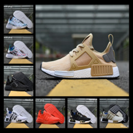 Wholesale Orange Camo Shoes - 2017 NMD XR1 Duck Camo MMJ Pink Tan Olive Caged Triple White Men Women Running Shoes Sneakers Originals Fashion NMDs Runner Athletic Shoes
