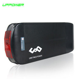Wholesale Used Tail Lights - US EU No Tax 1000W 48V 17.4Ah eBike rear rack Battery use LG 2900mAh cell 30A BMS 48V 17Ah Lithium ion Battery with Tail Light