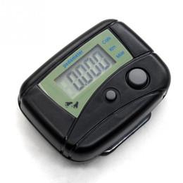 Gros-Noir Multifonctionnel Électronique Numérique LCD Exécuter Étape Exécuter Podomètre Marche Calorie Compteur Distance Clip-sur ? partir de fabricateur