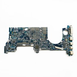 Wholesale Usb Port Macbook - For Macbook Pro A1260 Logic board 2.4GHz T8300 820-2249-A 661-4960 Laptop Motherboard Early 2008 Fully Tested