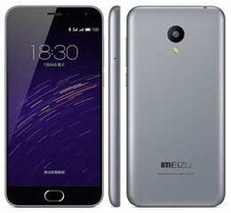 Wholesale Meizu M2 - Unlocked Original MeiZu M2 Smart Mobile Phone 2GB RAM 16GB ROM Flyme MT6735 Android Quad Core 5.0inch 13.0MP LTE 4G Phone For your life