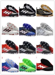 Wholesale Indoor Leather Basketballs - ACE 17+ PureControl FG Soccer Shoes 17.1 Outdoor Football Shoes ACE 17.3 Primemesh TF IN Soccer Boots Outdoor Football Cleats Indoor