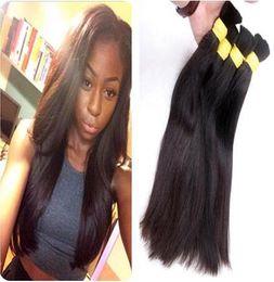 Wholesale Cheap Bulk Brazilian Hair - Cheap 300g Fast shipping 100% natural raw human hair bulk 12inch -30inch good quality virgin hair
