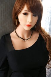 Wholesale Japanese Av Sex Dolls - 158cm Flexible Lifelike Japanese AV lady Real Touch Felling Sex Doll Low Price Full Body Silicon love Dolls for male products drop shipping