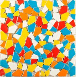 Wholesale Glazing Tiles - Pocelain mosaic, irregular mosaique mosaic tiles, mixed color kiln glazed ceramic mosaic tiles , Bathroom wall tiles, Garden deco,LSSP02