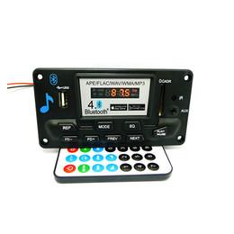 Vente en gros - Haute qualité MP3 WAV WMA APE Bluetooth 4.0 Audio Decoder Board avec enregistrement 12V ? partir de fabricateur