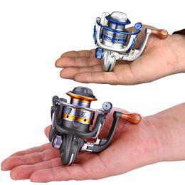 Carretes de brazo online-Carretes de spinning Brazo de balancín de metal Carrete de pesca Rueda de eje de alta velocidad Durable Alta suavidad Material de la estructura de archivo múltiple Ruedas 29ly J1