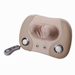 Wholesale Massage Pillow Neck Massager - Massage device neck cervical vertebra massage pillow cushion massager Free shipping
