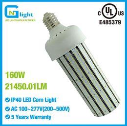 Wholesale High Sodium Bulbs - LED Corn cob lights bulb 150W replace 400W high presssure sodium warehouse high bay lights 100~277V E40 E39 mogul base 5000K 5500K daylight
