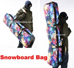 Wholesale Snow Ski Board - Wholesale-Professional snowboard board handbag starry sky monoboard snow bag mountain skiing boots waterproof shoulder protective bag big
