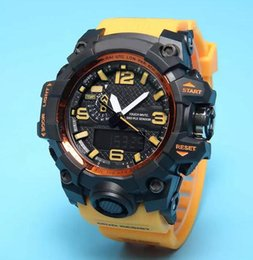 Wholesale Limited Edition Watches Waterproof - New Waterproof swimming Men G Sports Shocking Watches All Function Work Led Wristwatch GA100 Watch with Origianl box dropship