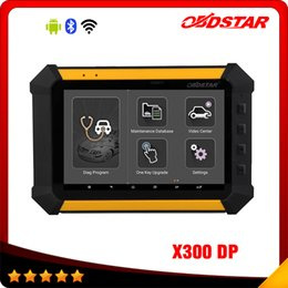 Wholesale Pad Wifi - 2017 High Quality OBDSTAR X300 DP Android Tablet Full Package with Multi-Language Available X 300 DP like x100 pad 2 DHL free