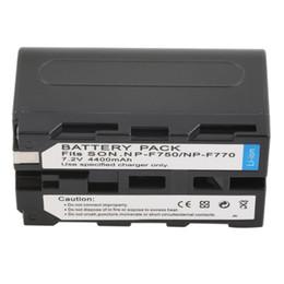 Bateria da câmara de vídeo da bateria do Li-Íon da substituição de 7.2V 4400MAH para a câmera de Sony NP-F750 / 770/730 de Fornecedores de bateria 7.2v