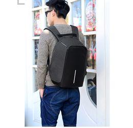 Wholesale Mens Bags Best - 2017 New Style Best Mens Backpacks Rock Designer Outdoor Travel Leather Backpacks Hiking Large Capacity Computer Backpacks