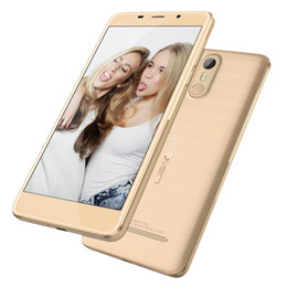 Wholesale Cheap Phones Gps - Cheap Touch ID LEAGOO M8 5.7 inch IPS 1280*720 HD Android 6.0 3G WCDMA Quad Core MTK6580 Fingerprint Scanner 13.0MP Camera GPS Smart Phone
