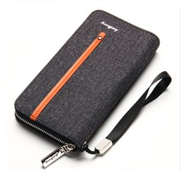 Wholesale Big Money Wallet Leather - 2017 Wallet men vintage casual multi-card position Purses item Organizer big capacity Cuzdan Pocket Vallet Male clutch money bag