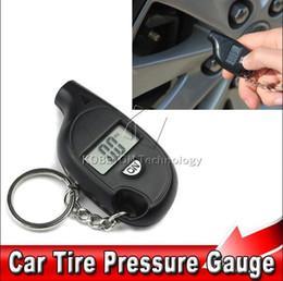 Wholesale Mini Digital Multimeters - 2017 New car TPMS Tools 2-150 PSI Mini Portable Digital Car Auto Tire Pressure Gauge LCD Display