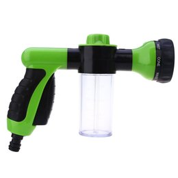 Wholesale Portable Car Washer Pressure - Wholesale- 2016 Hot Sale Car Washing Foam Water Gun Car Washer Portable Durable High Pressure For Car Washing Nozzle Spray