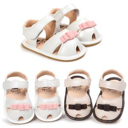 Wholesale Soles Sandals - Paragraphs in the summer of 2017 female baby princess sandals soft bottom shoes with rubber soles for shoes toddler sandals