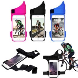 Wholesale Sports Outdoor Armband - Newest FLOVEME Arm band For iPhone 6 6S 7 7 Plus Outdoor Running Riding Arm band Cases For Apple iPhone7 Case Sport Mobile Phone Holder