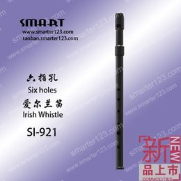 Wholesale Abs Whistle - Wholesale-SMART Si Mate official authentic tin whistle C tone 6 Kong and Ireland tin whistle flute instrument SI-921