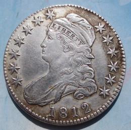 i marmi di vetro liberano il trasporto Sconti Il mezzo busto 1812 ha copiato le monete della copia dei dollari delle monete di alta qualità della copia di trasporto libero di alta qualità di trasporto