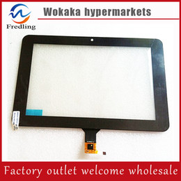 Wholesale Digitizer 9inch Tablet - Wholesale- 9inch New Glass 9'' Capacitve Touch Screen New DNS AirTab M93 External Tablet PC Touch Pad Handwritten Replacement Digitizer