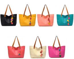 Wholesale Dress Shell Pink - women handbag shoulder bag chains PU designer tassel brand women messenger bag black fashion women tote one shoulder handbag