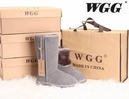 Wholesale Tall Womens Boots Fur - High Quality WGG Women's Classic tall Boots Womens boots Boot Snow boots Winter boots leather boots boot US SIZE 5---13