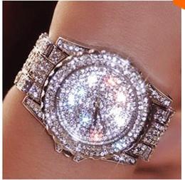 Wholesale Dropshipping Dresses - 2016 Hot Sale Women Watches Fashion Diamond Dress Watch High Quality Luxury Rhinestone Lady Wristwatch Quartz Watch Dropshipping
